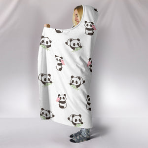 Panda Hooded Blanket