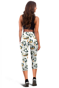 Panda Capri Leggings