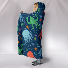 Octopus Hooded Blanket