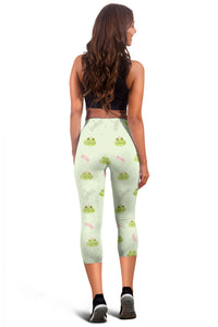 Frog Capri Leggings