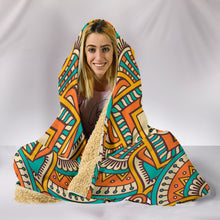 Mandala Hooded Blanket