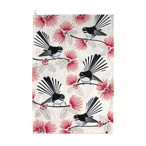 Teatowel Flirting Fantails