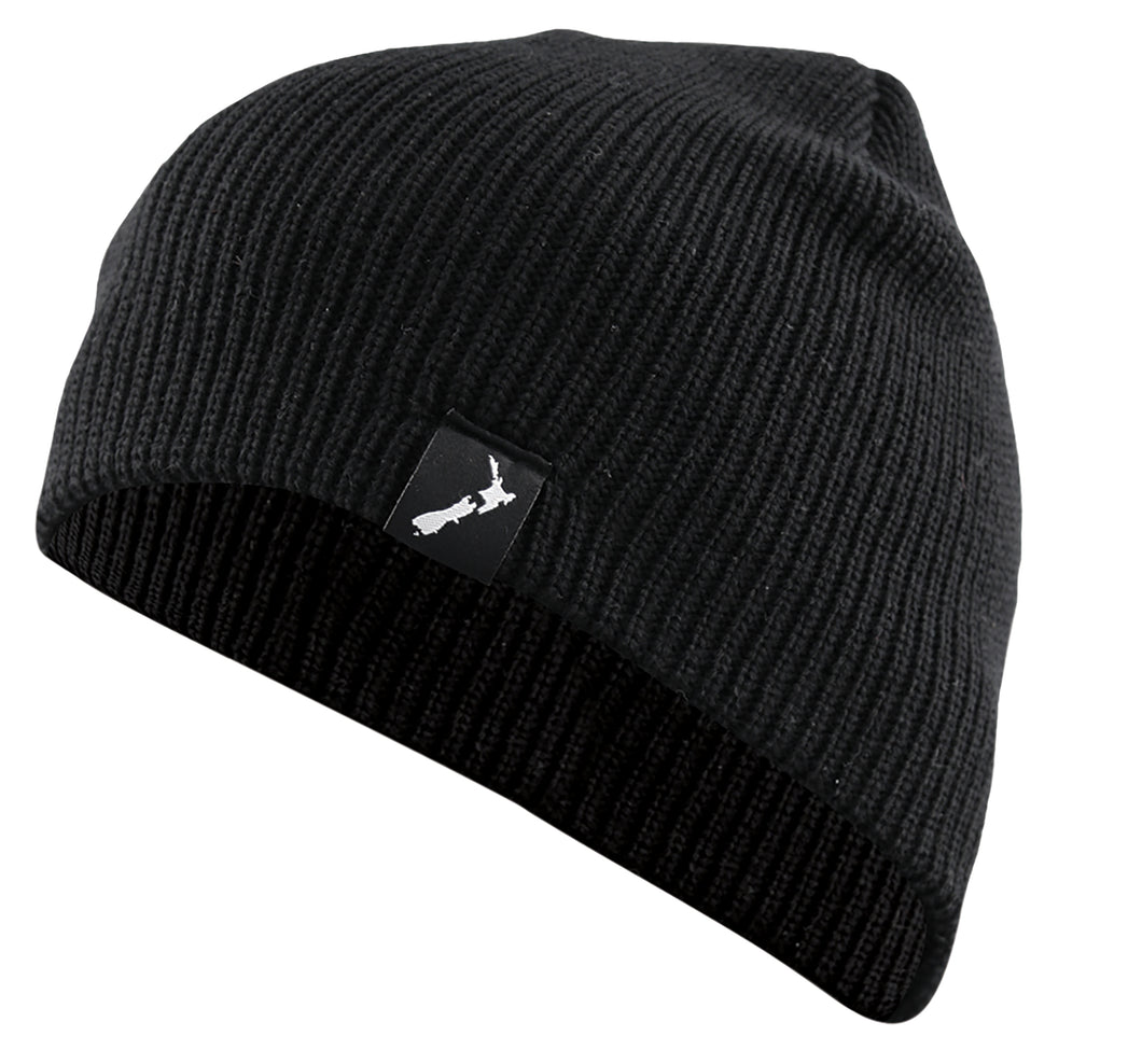 Beanie Ribbed NZ Label