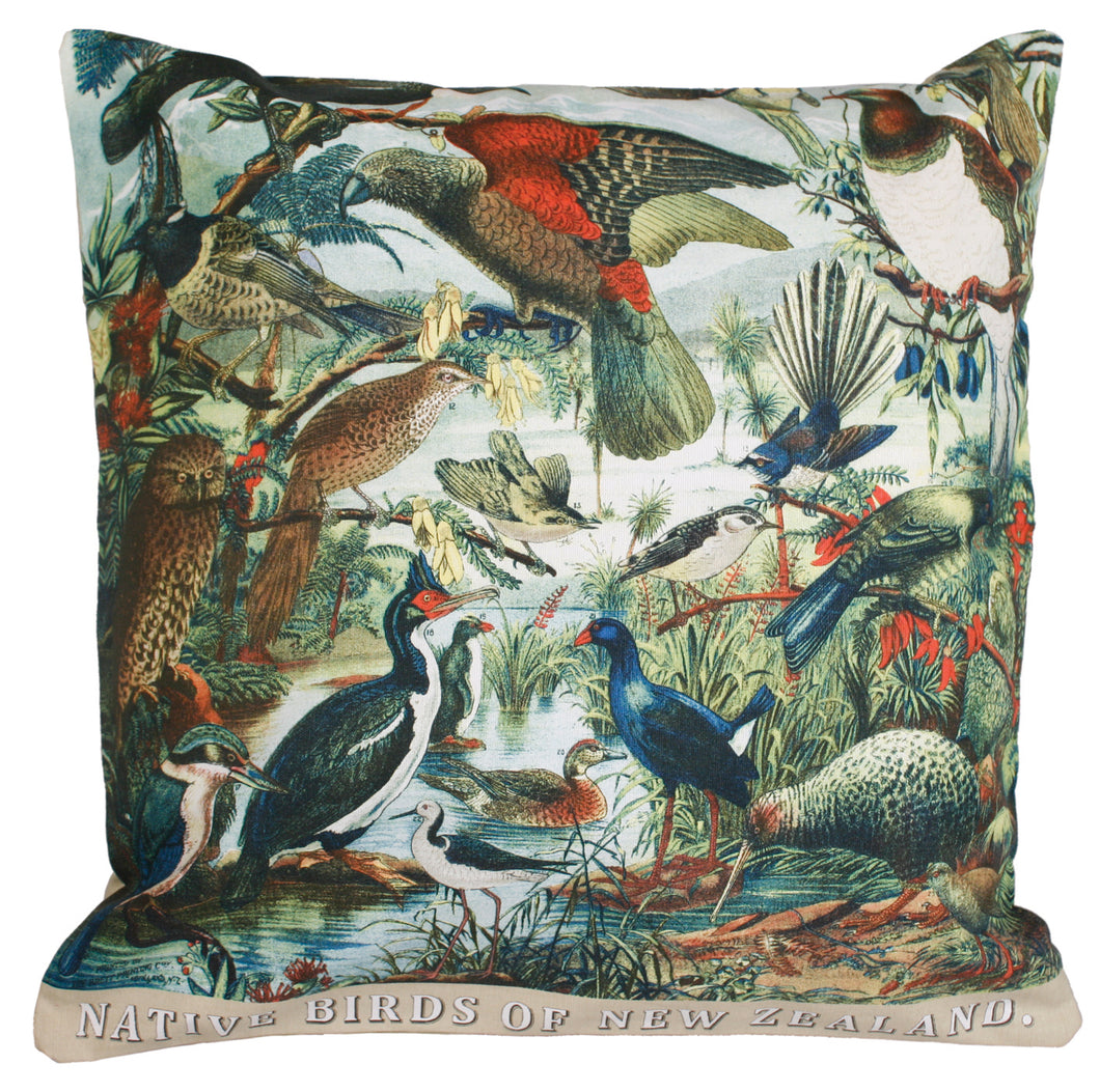 Cushion Cover Native Birds