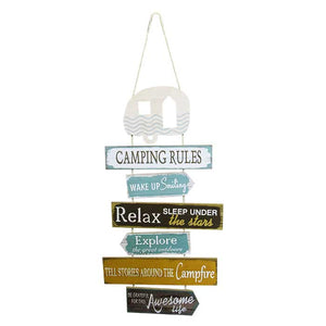 Rules Hanger Camping