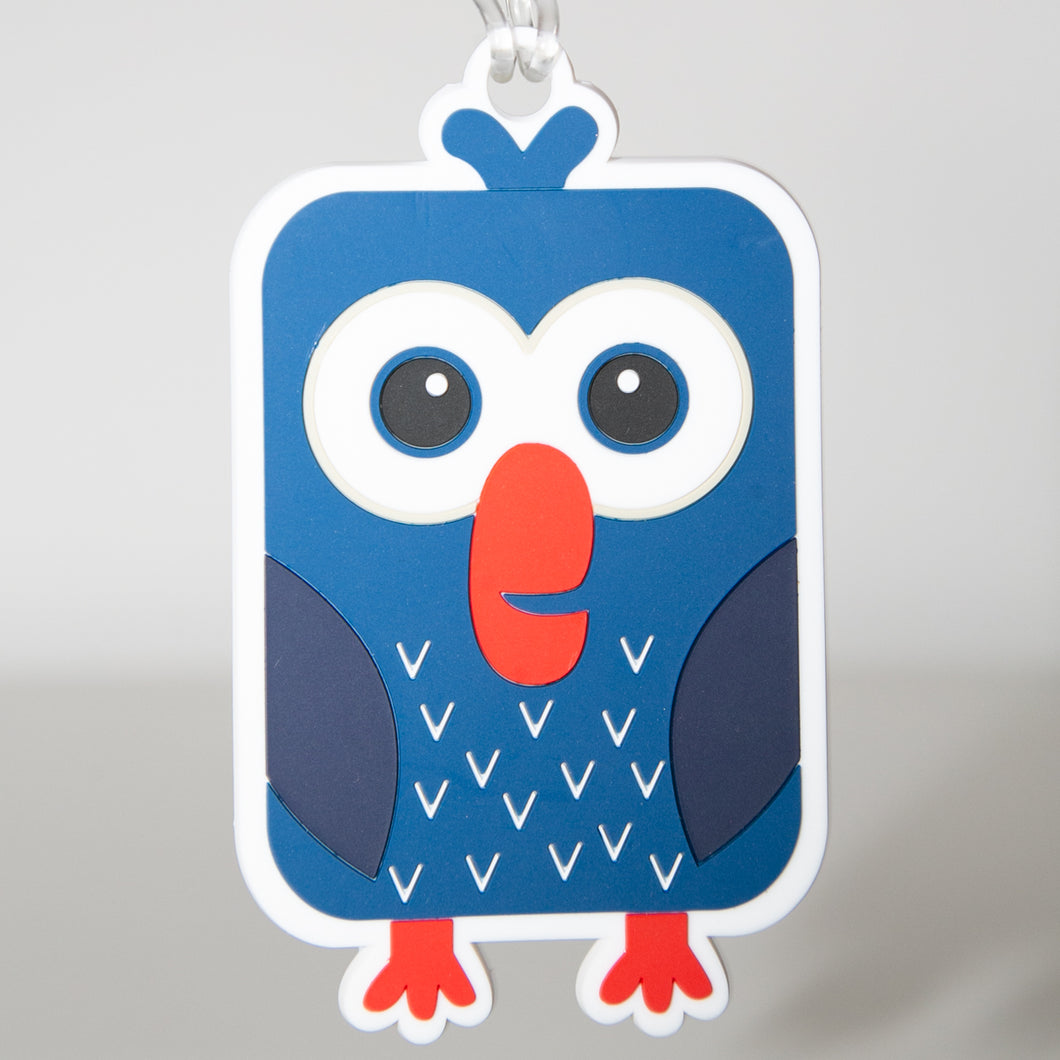 Bag Tag Pip Pukeko