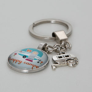 Keyring Caravan Happy Campers