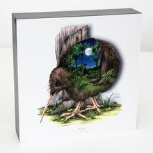 Load image into Gallery viewer, Art printed block - Kiwi