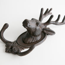 Load image into Gallery viewer, Deer Hook in Cast Iron
