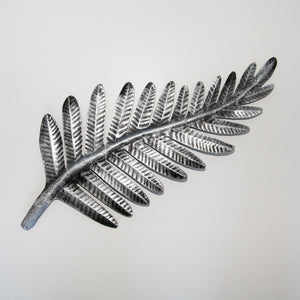 Fern Metal Silver Small