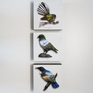 Art printed block - Tui