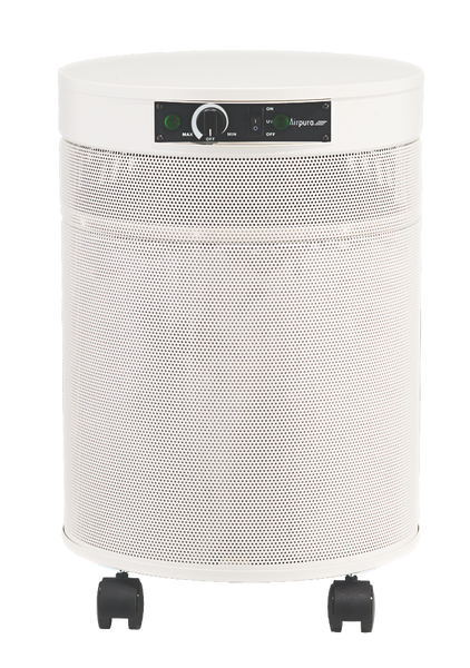 Airpura Germicidal Ultraviolet UV600 White Portable Air Cleaner HEPA UV