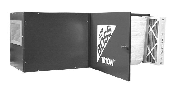 Trion Air Boss M3000 Media Bag Filter Odor Control Dust Collector