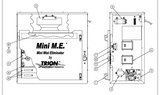 Trion Mini M.E. Mist Eliminator AirBoss Electrostatic Mist Eliminator 457600-001C Parts view