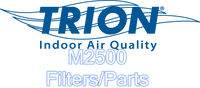 Trion M2500 Replacement Parts/Filters Bag Filter A2500-3000-9822 Primary Filter A2500-3000-6822 Blower 265711-001