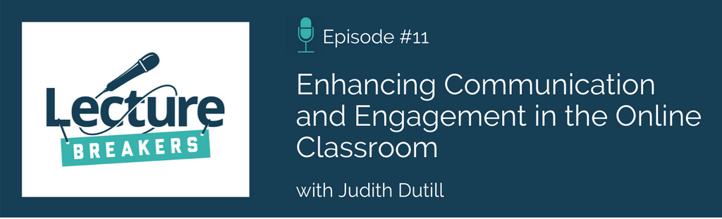 lecture breakers podcast teaching and learning strategies online learning and student engagement
