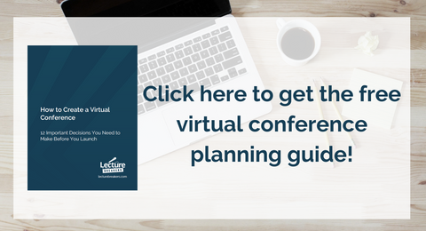 how to create a virtual conference online conference planning