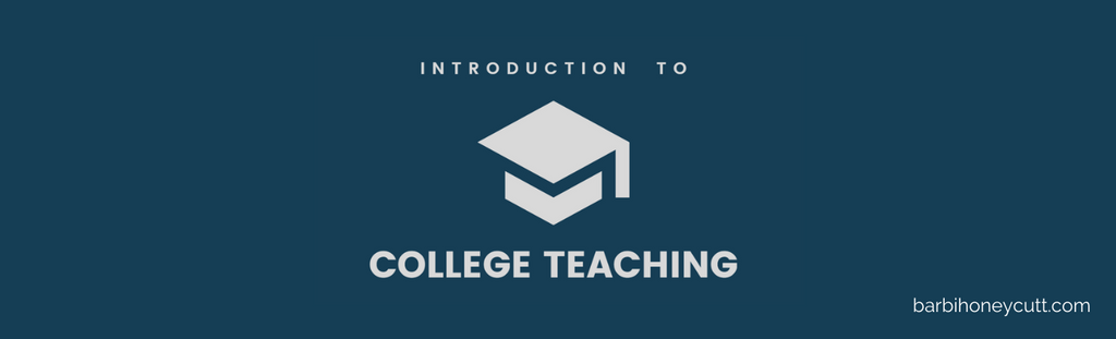 introduction to college teaching barbi honeycutt