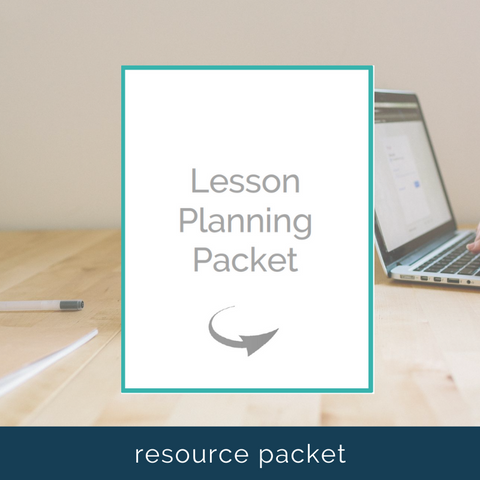 flipped classroom lesson planning template