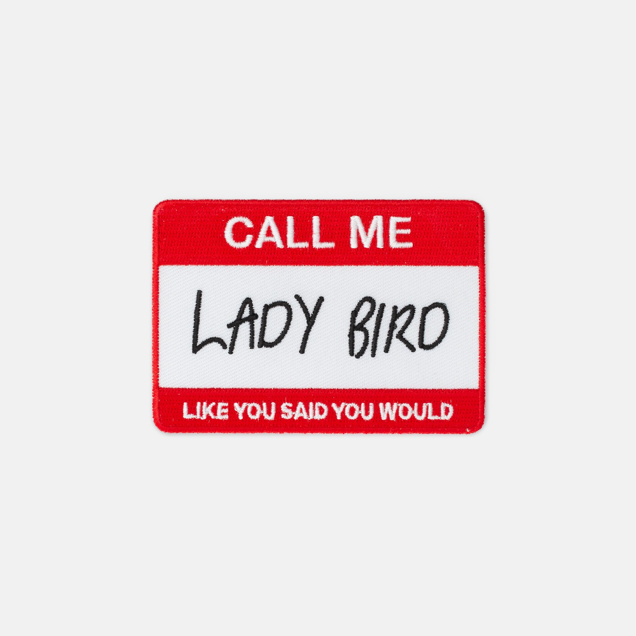 'Lady Bird' Name Patch