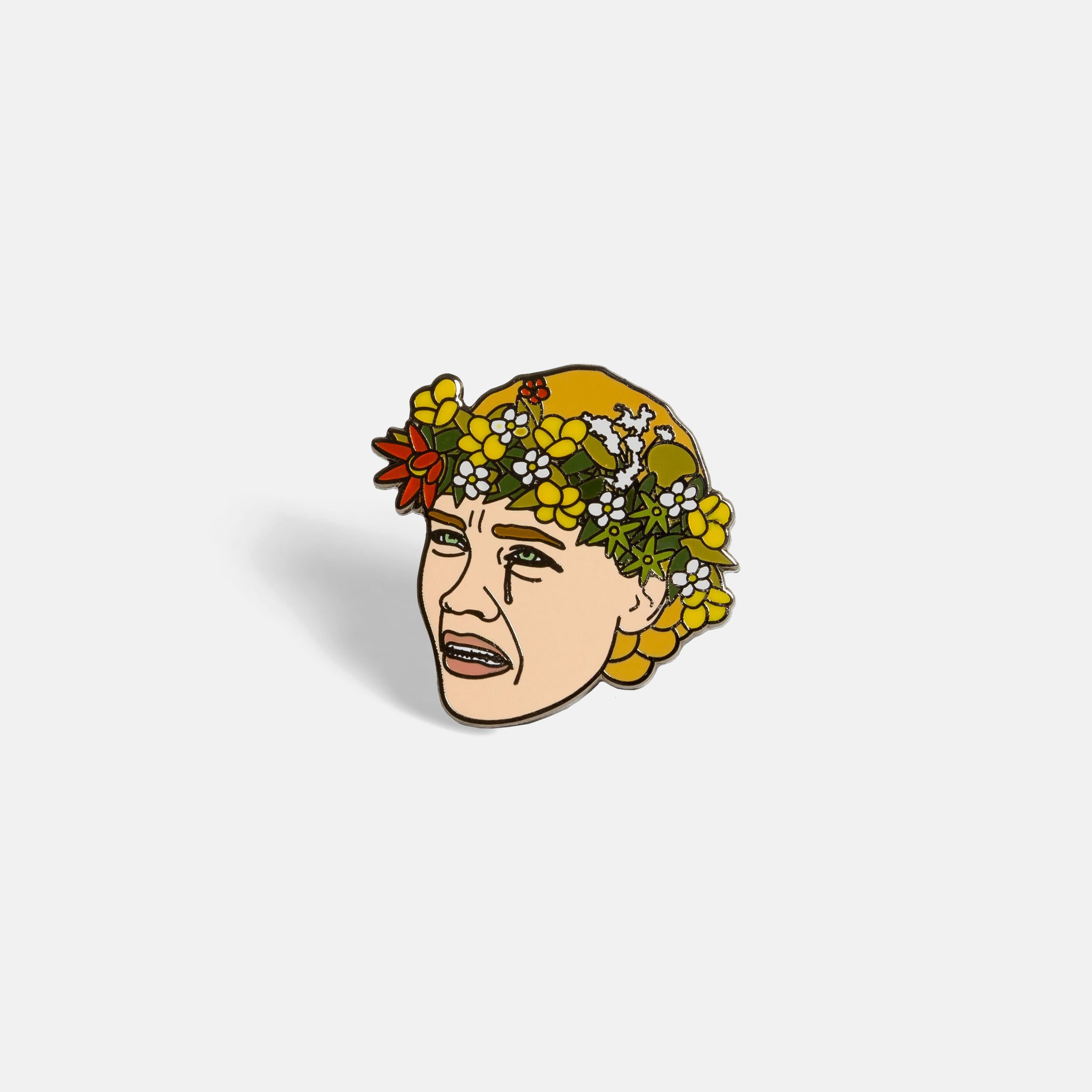 Flo Scream Pin