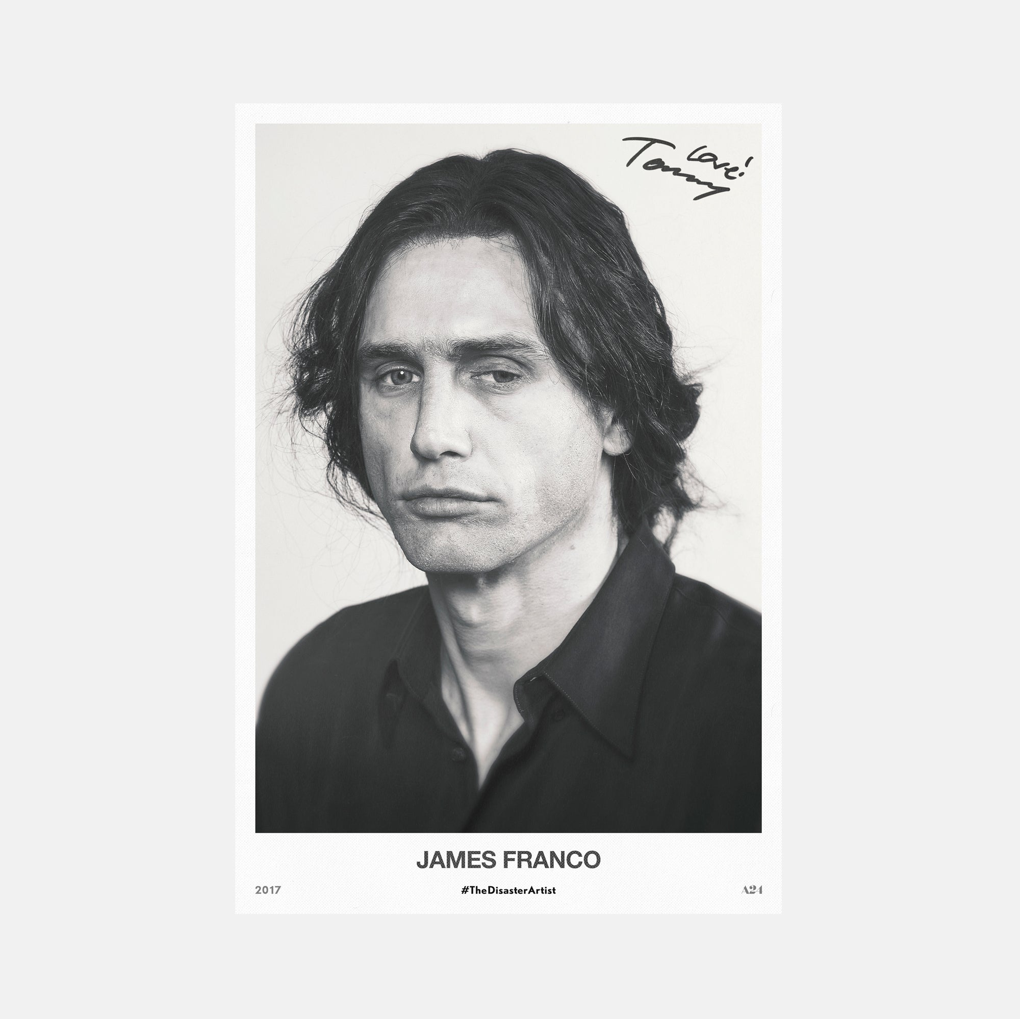 The Disaster Artist Printable Headshot