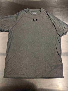 Mens Light Grey Under Armour T-Shirt