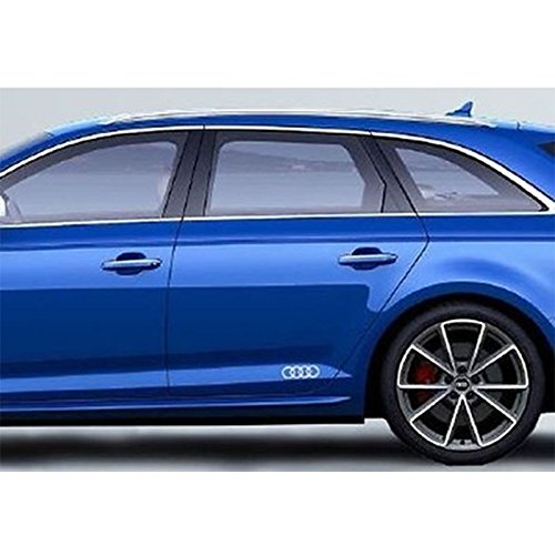 Decorative Foil Audi Logo Decal Set (2)