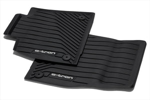e-tron All Weather Rubber Front Floor Mat Set