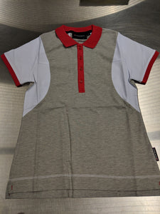 Women's Audi Sport White/Grey Polo