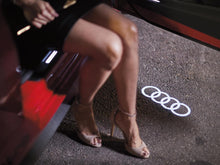 Load image into Gallery viewer, Door Beam Light Set (2) Audi Logo