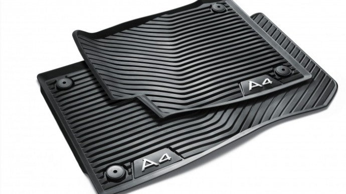 A4 Allroad All Weather Rubber Front Floor Mat Set