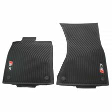<2018 S7/RS7 All Weather Rubber Front Floor Mat Set