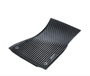 <2018 A6 All Weather Rubber Front Floor Mat Set