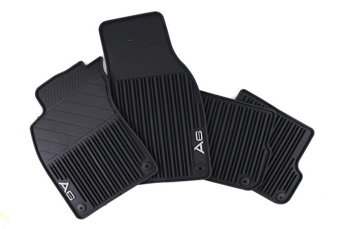 2019+ A6/A7/S7/RS7 All Weather Rubber Rear Floor Mat Set