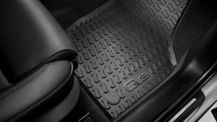 2015-2018 Q3 All Weather Rubber Rear Floor Mat Set