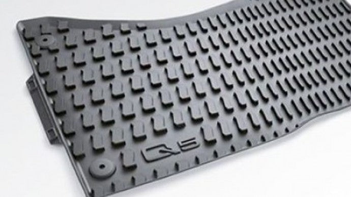 <2017 Q5/SQ5 All Weather Rubber Rear Floor Mat Set