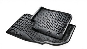 2017+ Q7/Q8 All Weather Rubber Rear Floor Mat Set