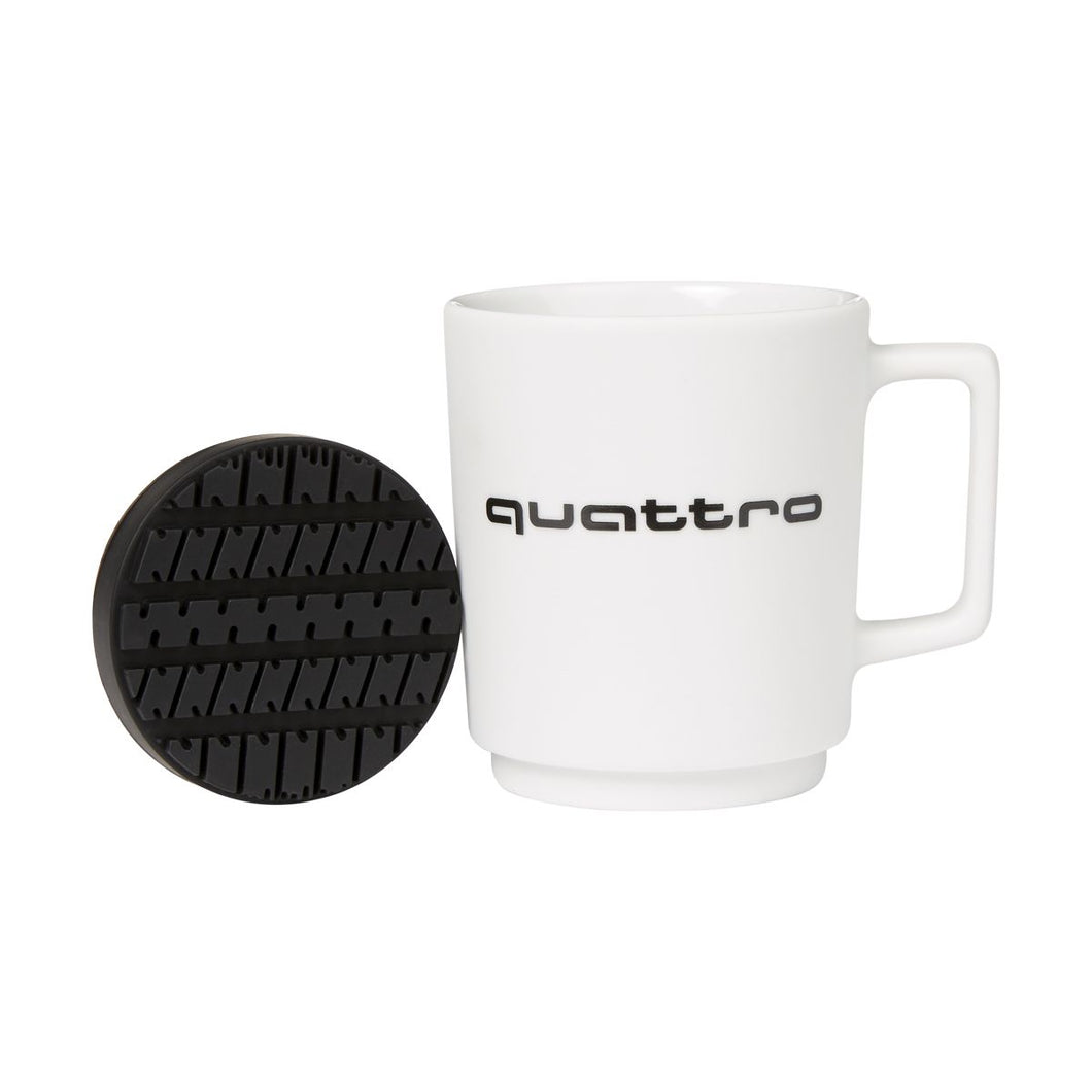 White Audi quattro Coffee Mug