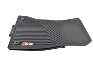 2018+ RS5 All Weather Rubber Front Floor Mat Set