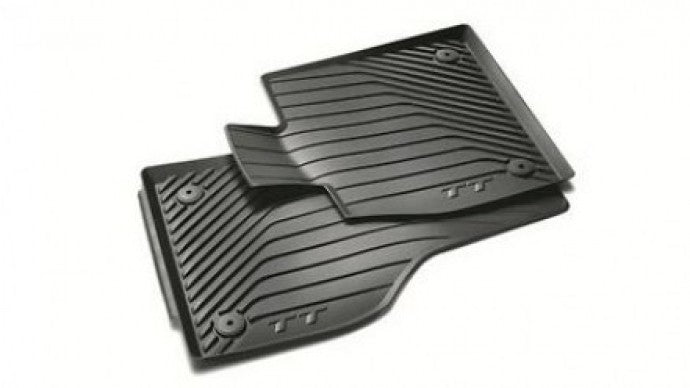 2015+ TT/TTS/TTRS All Weather Rubber Front Floor Mat Set