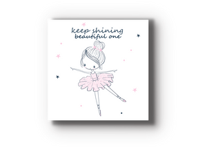 Ballerina Kids Room Wood Tile