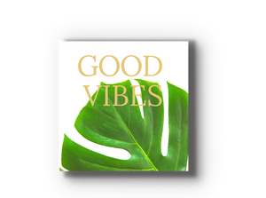 Good Vibes  Wood Tile