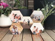 Hexagon Pine - Set of 5