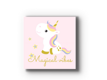 Unicorn Kids Room Wood Tile