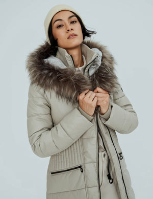 GIGI-X COAT - Almond - SALE
