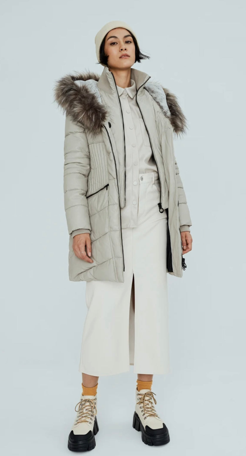 GIGI-X COAT - Almond