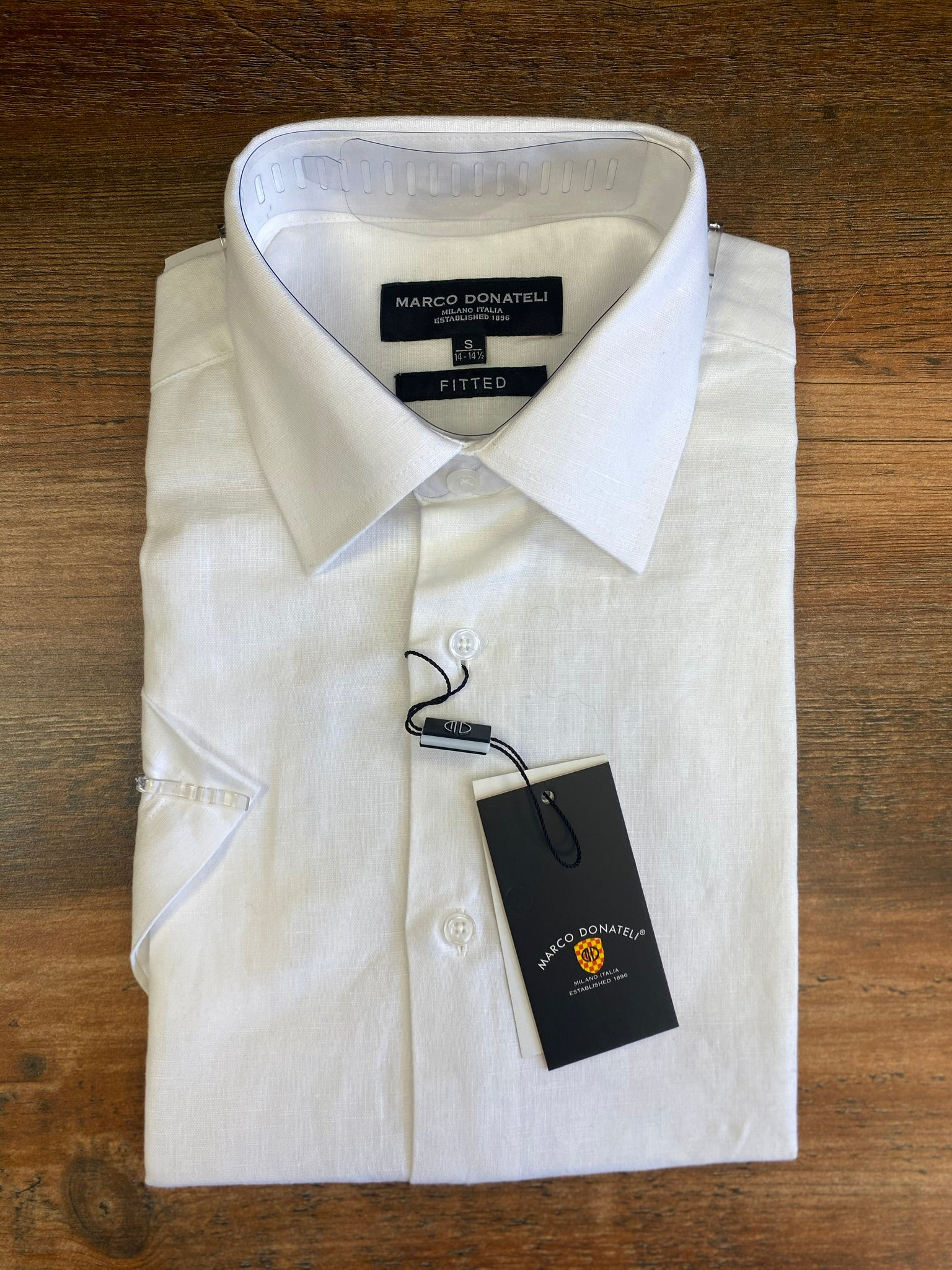 Linen Blend Men's Summer Shirt - Tiggs