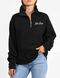 Brunette the Label X Belle's Boutique - Lake Babe - 1/2 Zip