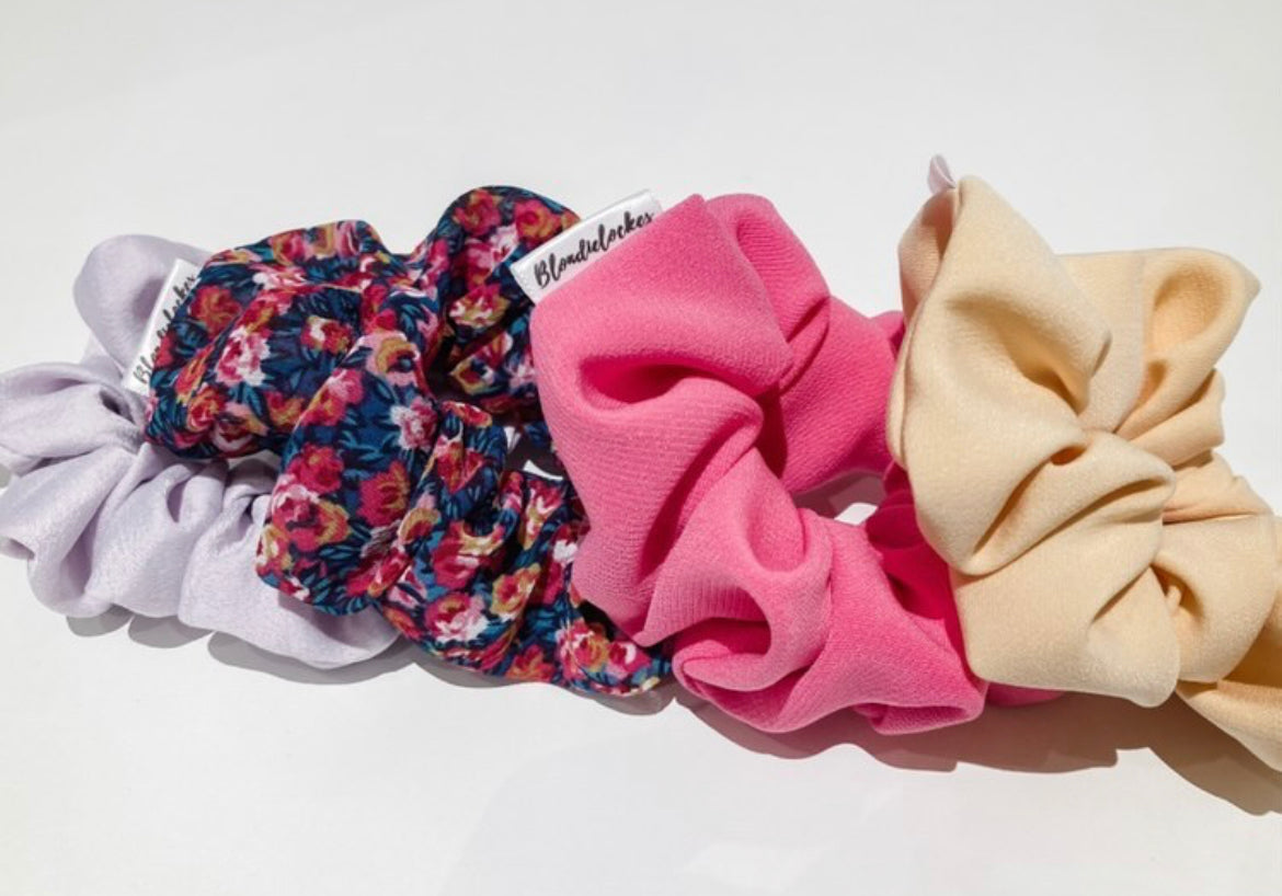 Spring Scrunchies